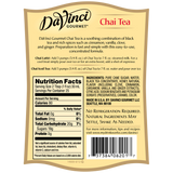 DaVinci Classic Chai Tea Concentrate (750mL) - CustomPaperCup.com Branded Restaurant Supplies