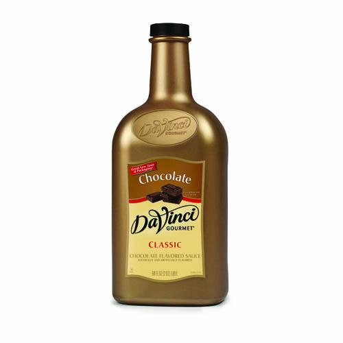 DaVinci Chocolate Sauce (64oz) - CustomPaperCup.com Branded Restaurant Supplies