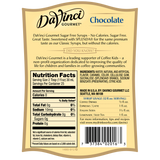 DaVinci Sugar Free Chocolate Syrup (750mL) - CustomPaperCup.com Branded Restaurant Supplies