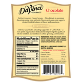 DaVinci Classic Chocolate Syrup (750mL) - CustomPaperCup.com Branded Restaurant Supplies