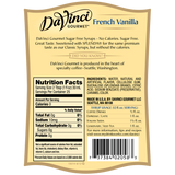 DaVinci Sugar Free French Vanilla Syrup (750mL) - CustomPaperCup.com Branded Restaurant Supplies