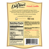 DaVinci Classic French Vanilla Syrup (750mL) - CustomPaperCup.com Branded Restaurant Supplies