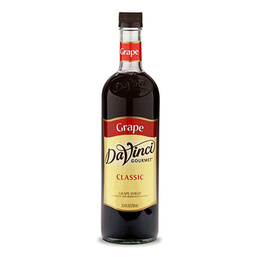 DaVinci Classic Grape Syrup (750mL) - CustomPaperCup.com Branded Restaurant Supplies