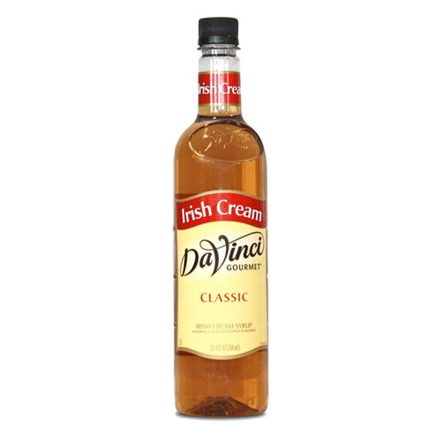 DaVinci Classic Irish Cream Syrup (750mL) - CustomPaperCup.com Branded Restaurant Supplies
