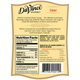 DaVinci Classic Lime Syrup (750mL) - CustomPaperCup.com Branded Restaurant Supplies