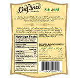 DaVinci Natural Caramel Flavored Syrup (700mL) - CustomPaperCup.com Branded Restaurant Supplies