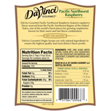 DaVinci Natural Single Origin Pacific Northwest Raspberry Syrup (700mL) - CustomPaperCup.com Branded Restaurant Supplies