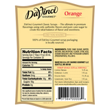 DaVinci Classic Orange Syrup (750mL) - CustomPaperCup.com Branded Restaurant Supplies