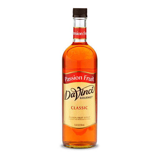 DaVinci Classic Passion Fruit Syrup (750mL) - CustomPaperCup.com Branded Restaurant Supplies