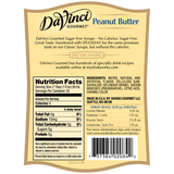 DaVinci Sugar Free Peanut Butter Syrup (750mL) - CustomPaperCup.com Branded Restaurant Supplies