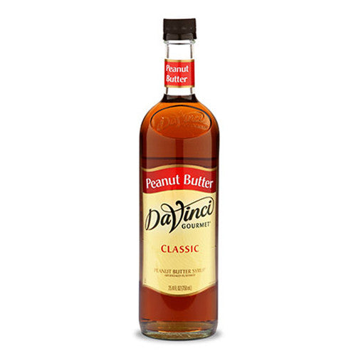 DaVinci Classic Peanut Butter Syrup (750mL) - CustomPaperCup.com Branded Restaurant Supplies
