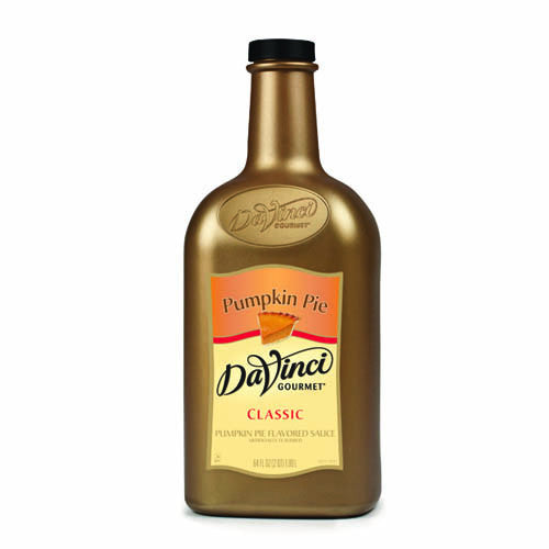 DaVinci Pumpkin Pie Sauce (64oz) - CustomPaperCup.com Branded Restaurant Supplies
