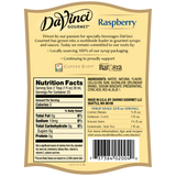 DaVinci Sugar Free Raspberry Syrup (750mL) - CustomPaperCup.com Branded Restaurant Supplies