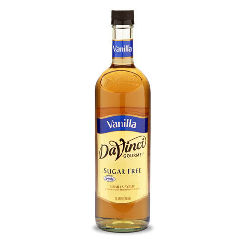 DaVinci Sugar Free Vanilla Syrup (750mL) - CustomPaperCup.com Branded Restaurant Supplies
