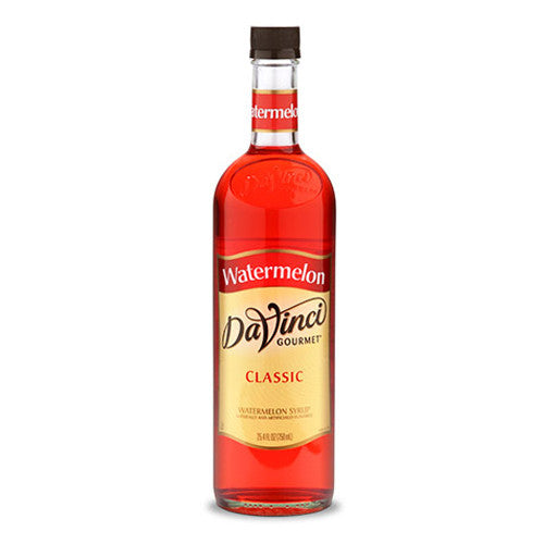DaVinci Classic Watermelon Syrup (750mL) - CustomPaperCup.com Branded Restaurant Supplies