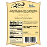DaVinci Sugar Free White Chocolate Syrup (750mL) - CustomPaperCup.com Branded Restaurant Supplies