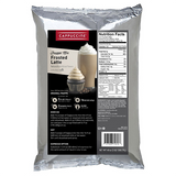 Cappuccine Frosted Latte Frappe Mix (3 lbs) - CustomPaperCup.com Branded Restaurant Supplies