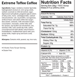 Cappuccine Extreme Toffee Coffee Frappe Mix (3 lbs) - CustomPaperCup.com Branded Restaurant Supplies