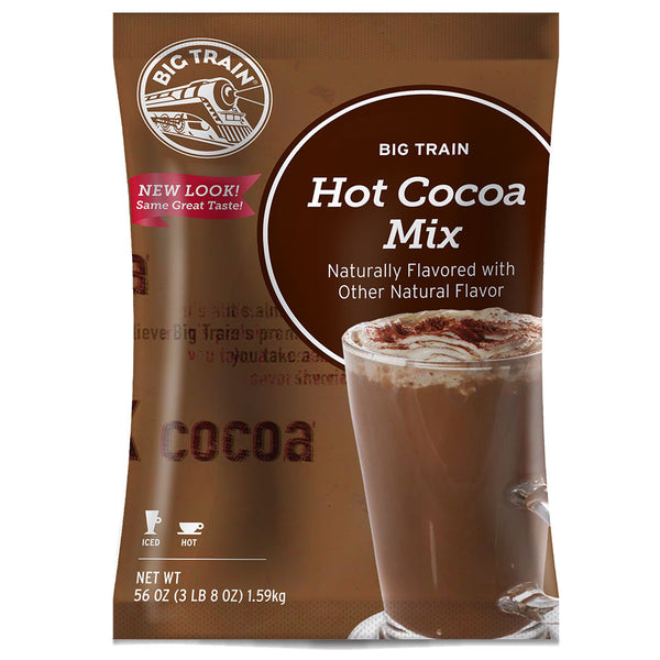 Big Train Hot Coco Mix (3.5 lbs) - CustomPaperCup.com Branded Restaurant Supplies