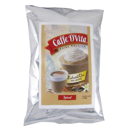 Caffe D'Vita Enchanted Chai Spiced Tea Latte (3.5 lbs) - CustomPaperCup.com Branded Restaurant Supplies