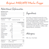 MoCafe Original Mocha Frappe Mix (3 lbs) - CustomPaperCup.com Branded Restaurant Supplies