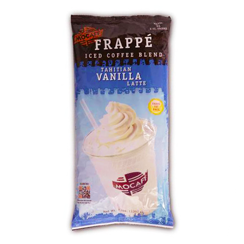 MoCafe Tahitian Vanilla Frappe Mix (3 lbs) - CustomPaperCup.com Branded Restaurant Supplies