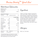 MoCafe Precious Divinity Spiced Chai (3 lbs) - CustomPaperCup.com Branded Restaurant Supplies