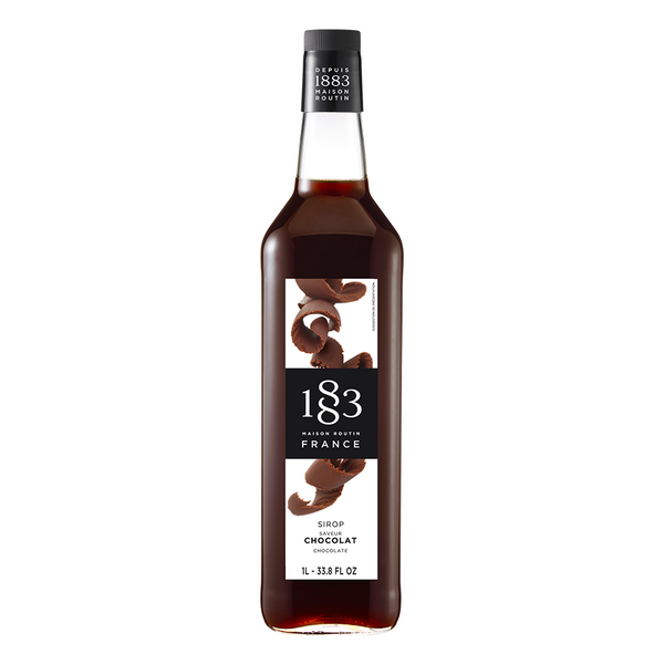 1883 Maison Routin Chocolate Syrup (1L) - CustomPaperCup.com Branded Restaurant Supplies