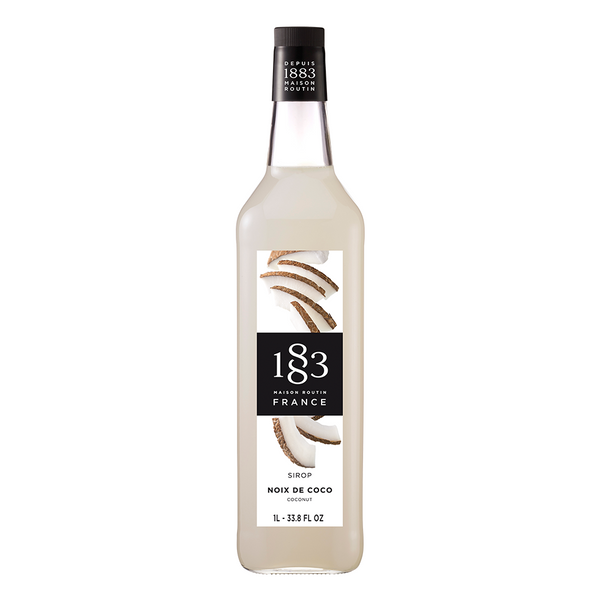 1883 Maison Routin Coconut Syrup (1L) - CustomPaperCup.com Branded Restaurant Supplies