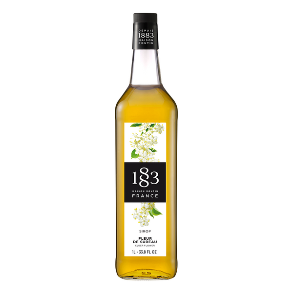 1883 Maison Routin Elderflower Syrup (1L) - CustomPaperCup.com Branded Restaurant Supplies