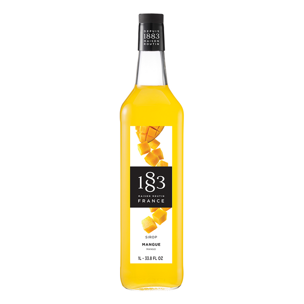 1883 Maison Routin Mango Syrup (1L) - CustomPaperCup.com Branded Restaurant Supplies