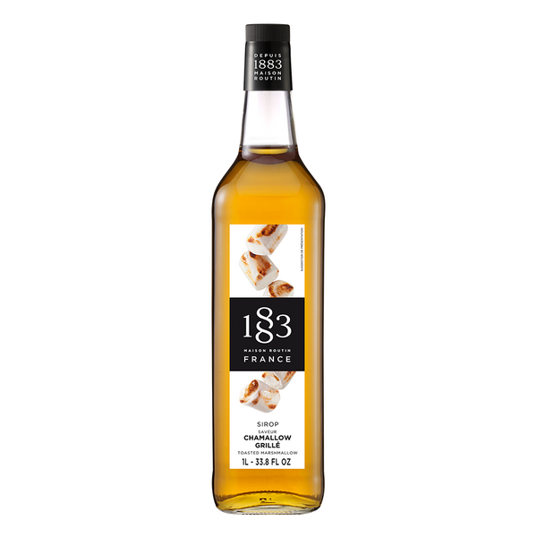 1883 Maison Routin Toasted Marshmallow Syrup (1L) - CustomPaperCup.com Branded Restaurant Supplies
