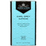 Harney & Sons Premium Earl Grey Supreme Tea - 20 Bag Box - CustomPaperCup.com Branded Restaurant Supplies