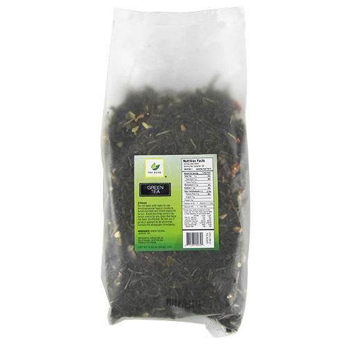 Tea Zone Green Tea Leaves - Bag (8.46oz) - CustomPaperCup.com Branded Restaurant Supplies