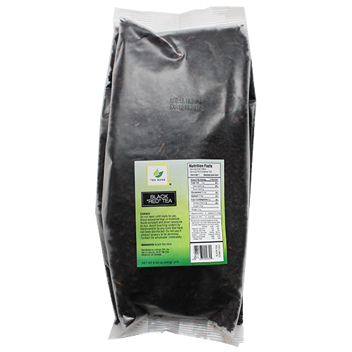 Tea Zone Black (Red) Tea Leaves - Bag (8.46oz) - CustomPaperCup.com Branded Restaurant Supplies