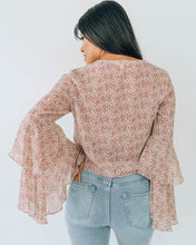 Fiona Flora Sleeve Top