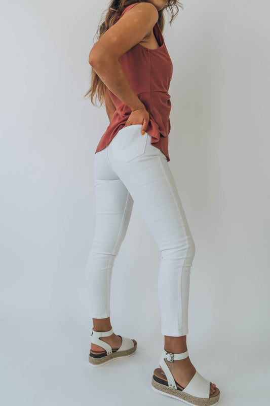 Waverly White Jeans