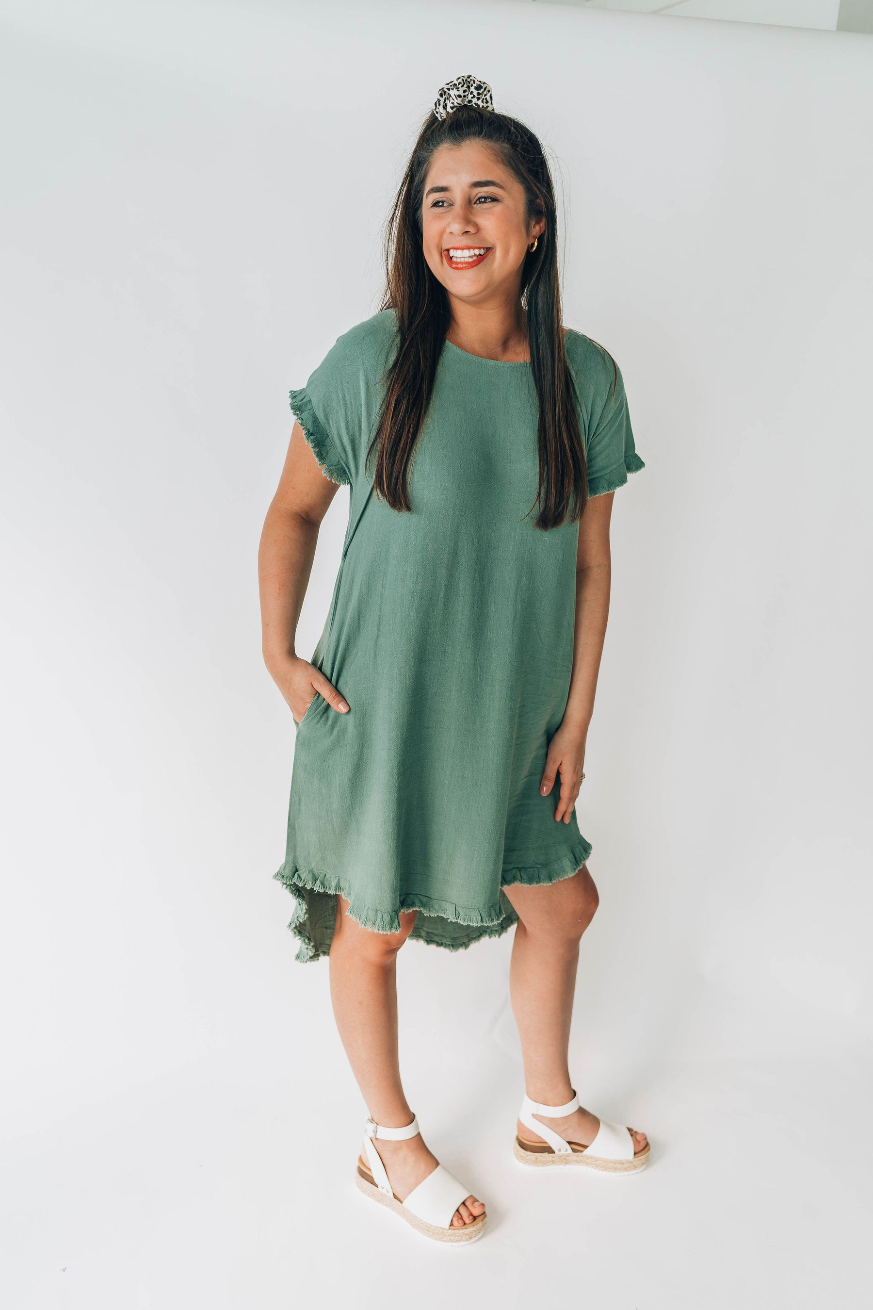 Hattie Hi-Lo Dress