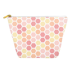 Pastel Honeycomb Travel Pouch
