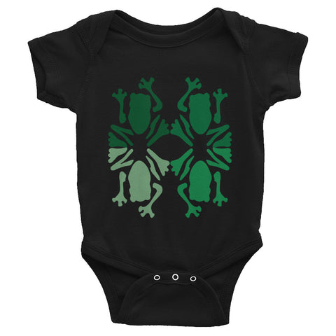 Froggy Infant Snap Tee