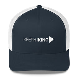 Keep Hiking Trucker Cap