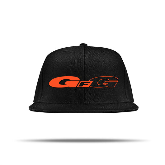 GFG Forged Wheels Orange - Black Snapback Hat