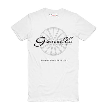 Gianelle Wheels - White T-shirt