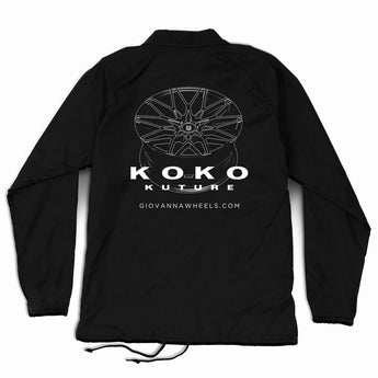 Koko Kuture - Black Coaches Jacket