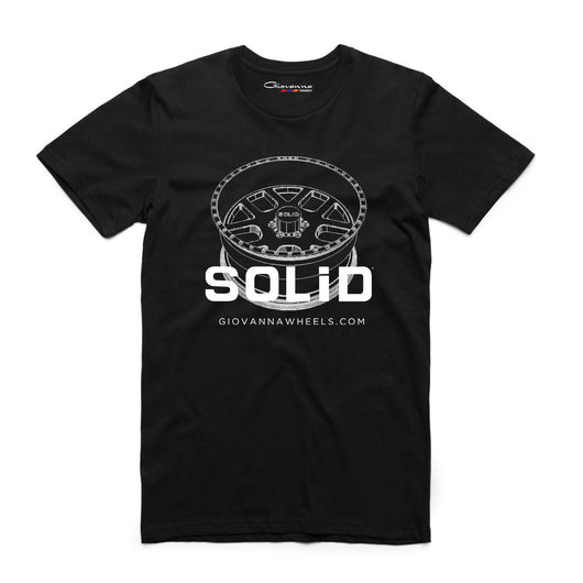 Solid Wheels - Black T-shirt