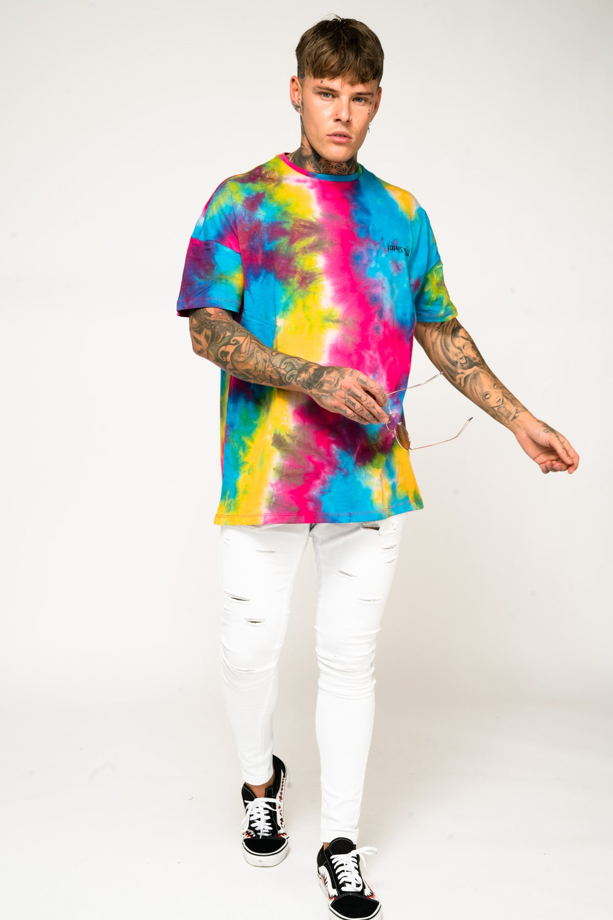 Roadies of 66 - Oversized Tie Dye T-Shirt