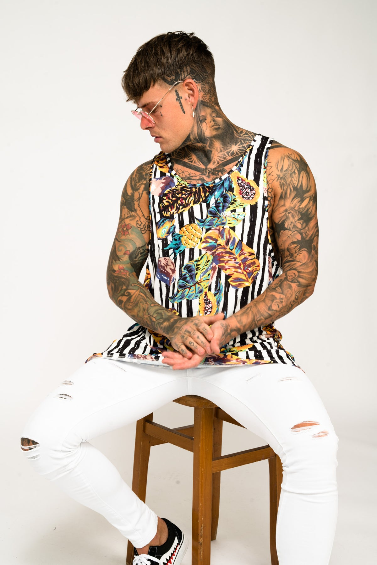 Roadies of 66 - Oversized Jungle Printed Vest