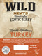 Exotic Jerky - Honey BBQ Turkey