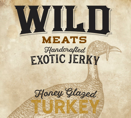 Exotic Jerky - Honey Glazed Turkey