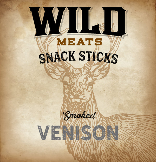 Snack Sticks - Smoked Venison